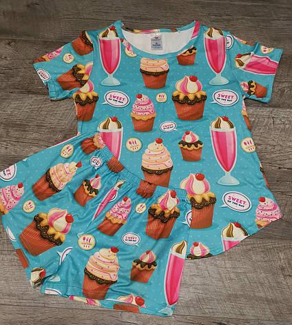 Молодежная пижама 60-2, фото 2