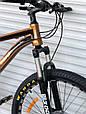 Спортивный горный алюминиевый велосипед TopRider 680 26 дюймов колеса, фото 2