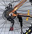 Спортивный горный алюминиевый велосипед TopRider 680 26 дюймов колеса, фото 4
