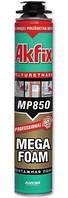 Профессиональная монтажная полиуретановая пена Akfix MEGA  (65 л)
