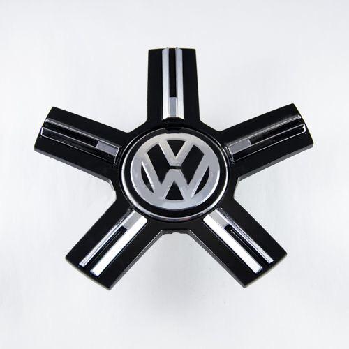 Ковпачок для диска VolksWagen new чорні (зірка) / 2 166 мм