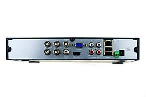 Гибридный видеорегистратор (для IP, AHD, TVI, CVI камер) SEVEN MR-7604 PRO, фото 2