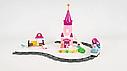 """Детская железная дорога конструктор M 0444 U/R Маленький паровозик для принцессы """"Волшебное путешествие"""", фото 3"""
