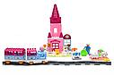 """Детская железная дорога конструктор M 0444 U/R Маленький паровозик для принцессы """"Волшебное путешествие"""", фото 2"""