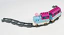 """Детская железная дорога конструктор M 0444 U/R Маленький паровозик для принцессы """"Волшебное путешествие"""", фото 5"""
