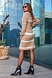 Тепле в'язана сукня «Лінда», 46-56, фото 3
