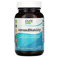 Поддержка надпочечников, AdrenalEssence, Pure Essence, 60 капсул