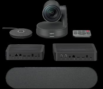 Система премиум-класса Logitech RALLY с конференц-камерой Ultra HD