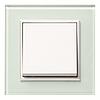 Рамка 3Х горизонтальная Lumina-Passion серебристый алюминий, фото 3