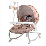 Кресло - шезлонг детское Lorelli Dream time с регулируемой спинкой Пром, фото 4
