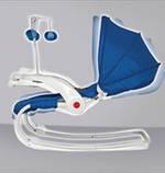 Кресло - шезлонг детское Lorelli Dream time с регулируемой спинкой Пром, фото 5