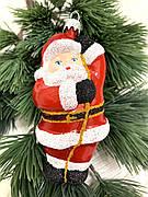 Ялинкова іграшка - Дід Мороз ( 14 см )