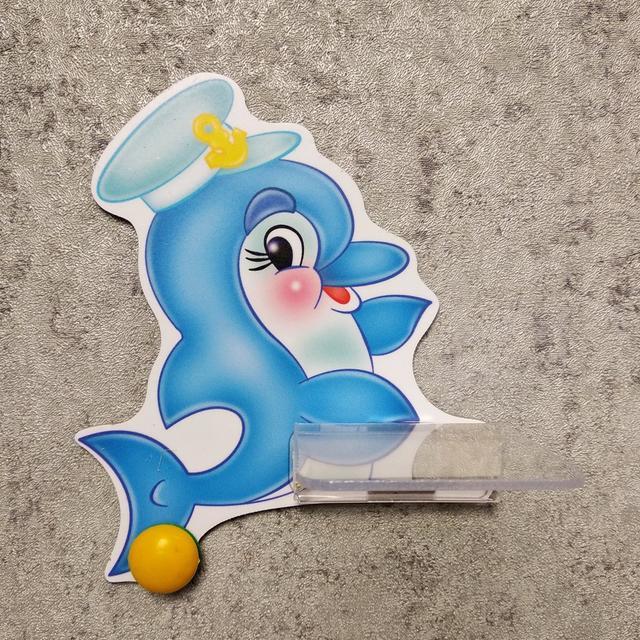 Стенд для рисунка и поделки Дельфинчик