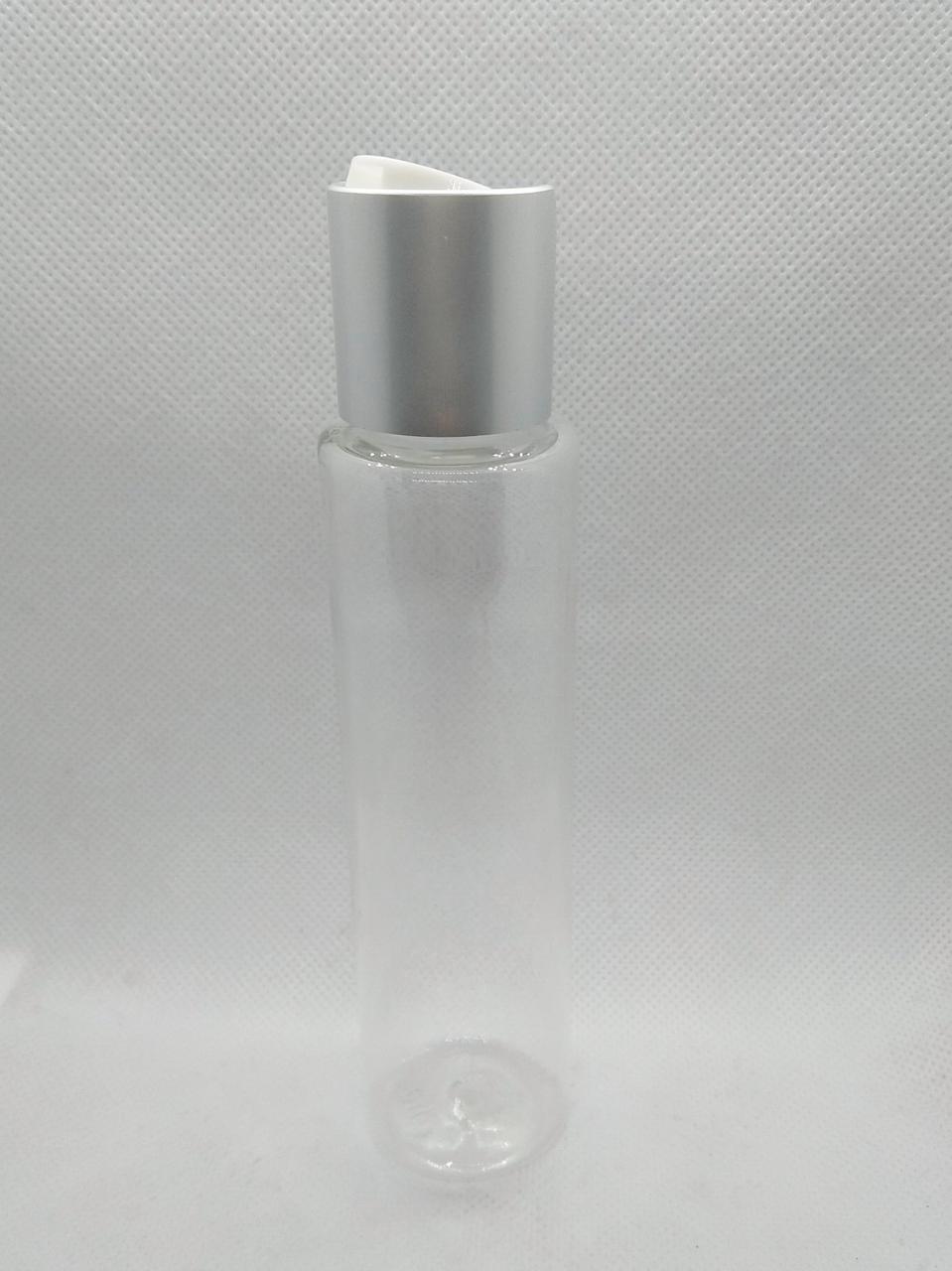 Флакон 100 мл з диск-топом Берлін(срібло)