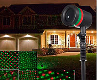 Лазерный проектор звездного неба Star Shower Laser, уличный проектор для украшения дома
