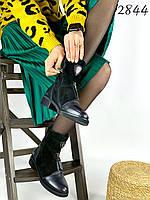 Демисезонные женские ботинки натуральна кожа/замш 38 размер стелька 24,5 см