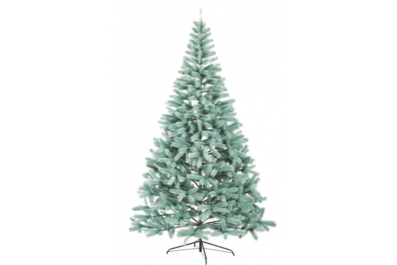 Литая искусственная елка Буковельская 2,5 метра голубая ель