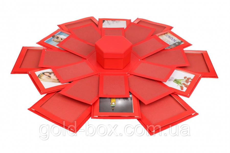Подарункова коробочка з фотографіями
