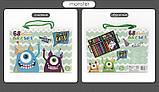 Детский набор для рисования Amazecat на 68 предметов, модель Monster's party, фото 6