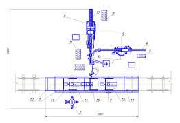 Комплекс демонтажа и мойки буксового узла и подшипников