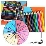 Детский набор для рисования Amazecat на 68 предметов, модель Pink Unicorn, фото 3