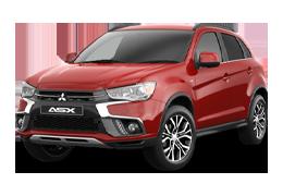 Накладки на задний бампер для Mitsubishi (Мицубиси) ASX (Outlander Sport) `10