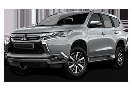 Накладки на задний бампер для Mitsubishi (Мицубиси) Pajero Sport 3 2016+