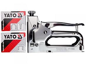 Степлер YATO для скоб и гвоздей G 6-14 мм S 10-12 мм J 8-14 мм YT-7000
