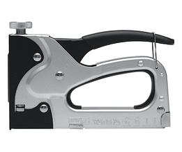 Степлер YATO с регулятором для скоб и гвоздей 6-14 х 10.6 х 1.2 мм YT-7001