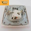 Розетка компьютерная VI-KO Carmen (интернет) скрытой установки (белая), фото 4