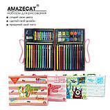 Детский набор для рисования Amazecat на 68 предметов, модель Pink Unicorn, фото 6