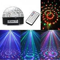 Светомузыка диско шар Magic Ball Music MP3 плеер с bluetooth SL-302