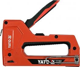 Степлер для скоб и гвоздей YATO 6-14х 11,3х 1,2 мм,15х 1,2 мм, YT-70021