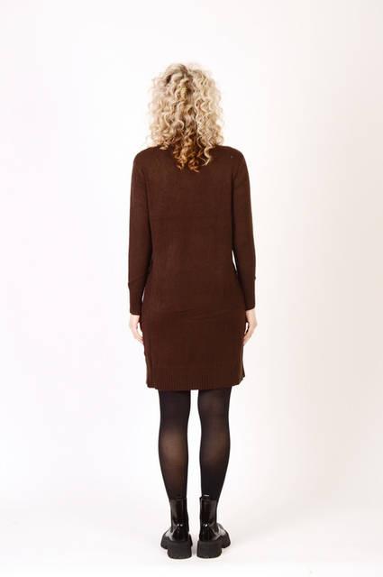 Теплые женские платья опт Beauty Woman 15Є, лот 8шт (7115)  27