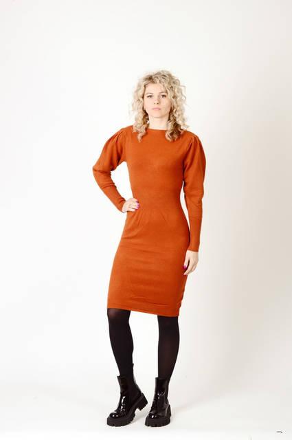 Трикотажные женские платья оптом Beauty Woman 13Є, лот 8шт (677)  29