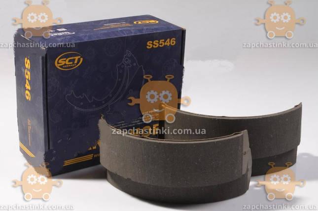 Колодка тормозная Газель задняя (4шт) (пр-во SCT) М 1273283, фото 2