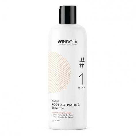 Шампунь для стимуляції росту волосся Indola Innova Root Activating 300 мл, фото 2