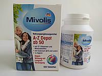 Mivolis A-Z depot ab 50 Биологически активная добавка 100 шт, фото 1