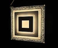 Стильный светодиодный светильник квадрат 30ват, фото 1