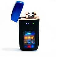 """Электроимпульсная USB зажигалка Lighter ZGP 70 """"Орёл"""", аккумуляторная электрозажигалка (сенсорна запальничка)"""