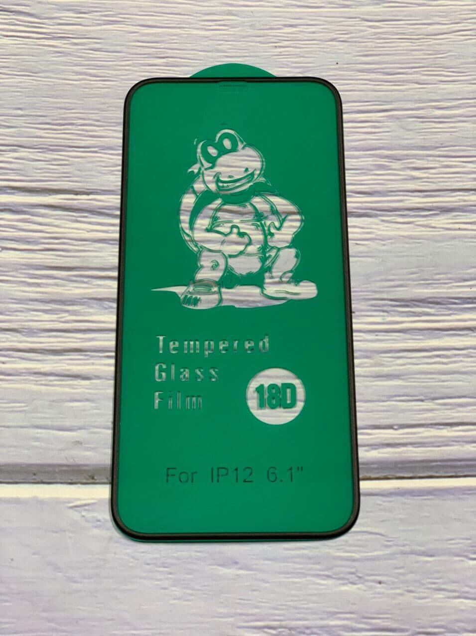 Cтекло 18D для iPhone 12 Pro Max , black