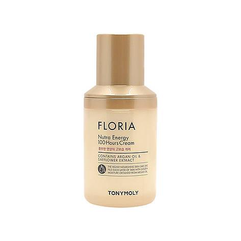 Увлажняющий крем с аргановым маслом Tony Moly Floria Nutra Energy 100 Hours Cream 50 мл, фото 2