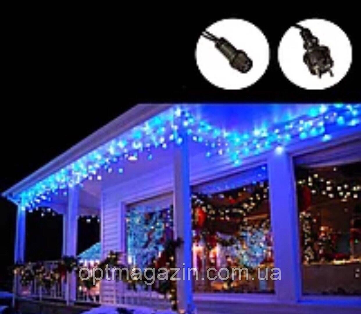 Бахрома вулиця 5м, (Білий і чорний дріт) синій