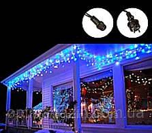 Бахрома вулиця 5м, (Білий і чорний дріт) синій, фото 2