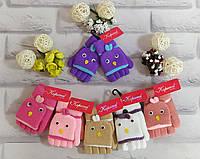 Детские варежки перчатки на 2-5 лет Корона, фото 1