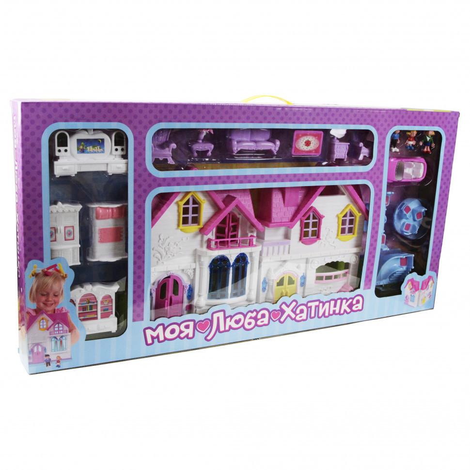 Игрушечный домик для кукол WD-921 Голубой