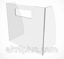 Защитный экран прикассовой зоны 800*700 мм, толщина акрила 4 мм