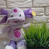 """ОРИГИНАЛ Детская игрушка """"Лунтик"""" Мягкая игрушка фиолетовая"""