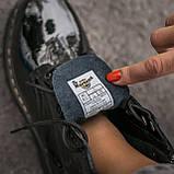 🔥 Ботинки женские высокие зимние Dr. Martens Jadon черные лаковые лак кожаные кожа теплые демисезонные, фото 7
