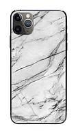 Универсальная пленка на заднюю панель для смартфона З.PROтект Мрамор Бело-черный (711115)